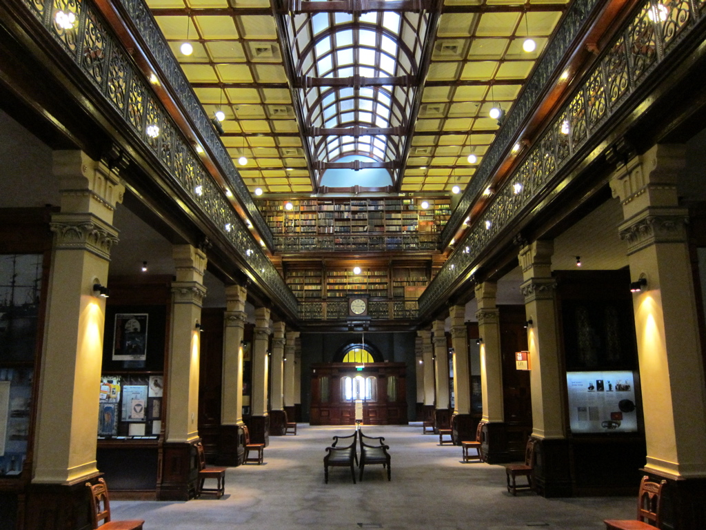 Mortlock Wing of the State Library of South Australia