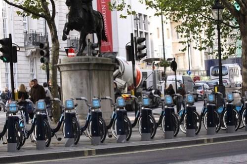 Bicicletas alquiler, Londres