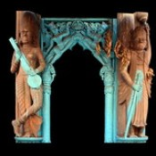 India - Uttar Pradesh - Mathura - Temple - 31d.