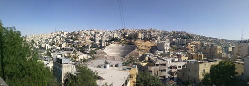 วิวเมืองอัมมานจากมุมสูง
