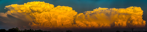 050212 - Building Nebraska Storm Cells (Pano)