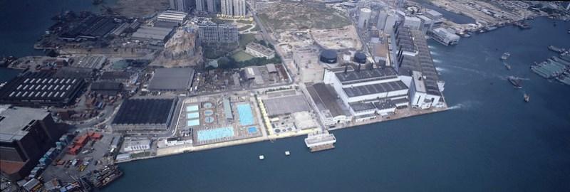 大環山游泳池 1982