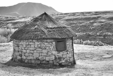 Hut in Lesotho