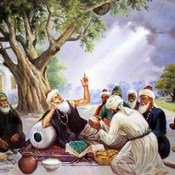 Defeat your enemy by consulting him. Captivate your friend by your manners: Baba Farid
