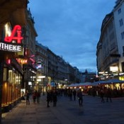 Wien, 1. Bezirk (the art of very renowned public places in the historic core of downtown Vienna), Graben