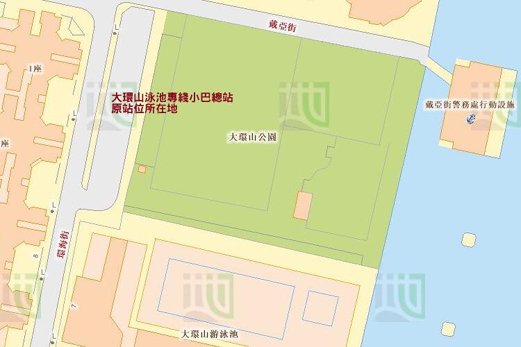 大環山泳池車站