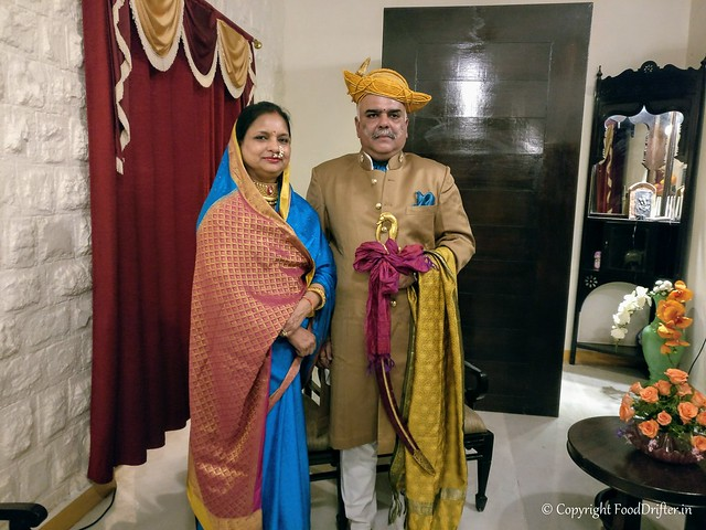 Maharaja and Maharani of Dhar