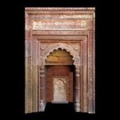 India - Delhi - Qutb Complex - Tomb Of Iltutmish - Detail - 8d.