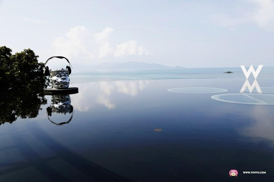 W HOTEL,人氣景點,泰國旅遊,泰國灣,泰國自由行,蘇梅島下午茶,貴婦下午茶 @VIVIYU小世界