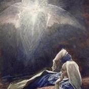 """Phillip Medhurst presents 411/740 James Tissot Bible c 1900 Joseph's dream from """"La Vie de Notre Seigneur Jésus Christ"""