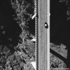 Going home, time to edit some 60GB of drone footage #blackandwhite #aerialphotography #car #bridge #vsco #vscocam #wanderlust #travel #traveling #travelgram #travelphotography #algarve #portugal #blackandwhitephotography #shadows