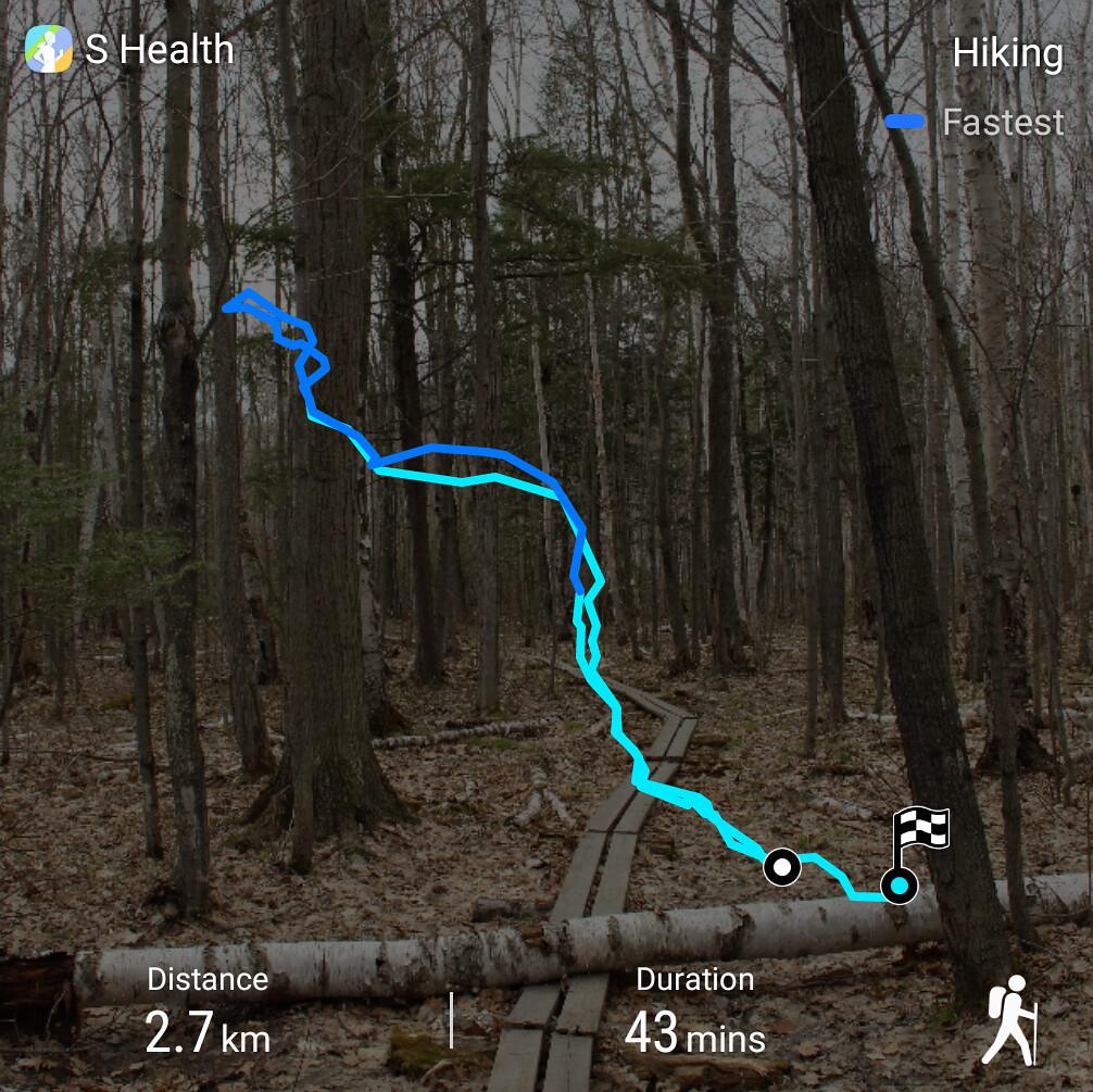 Silhouette Trail Route