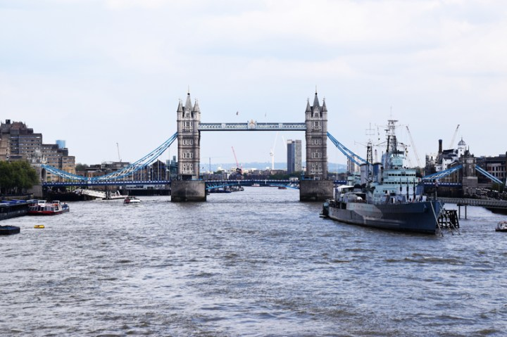 Tower Bridge & HMS Belfast