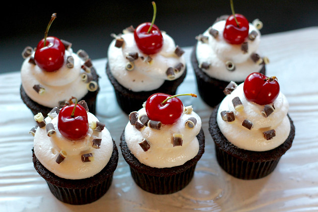 Black Forest Cupcakes - 34