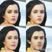 Katy Perry - faceapp