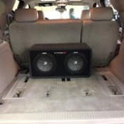 Chevy Tahoe with JVC and Kicker