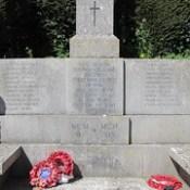 Mells: War Memorial (Somerset)
