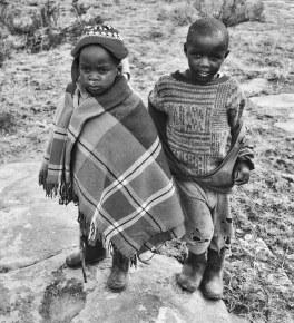 Farmers in Lesotho