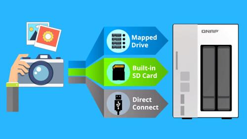 3 วิธีง่ายสุดในการถ่ายโอนรูปและวิดีโอไป QNAP Turbo NAS