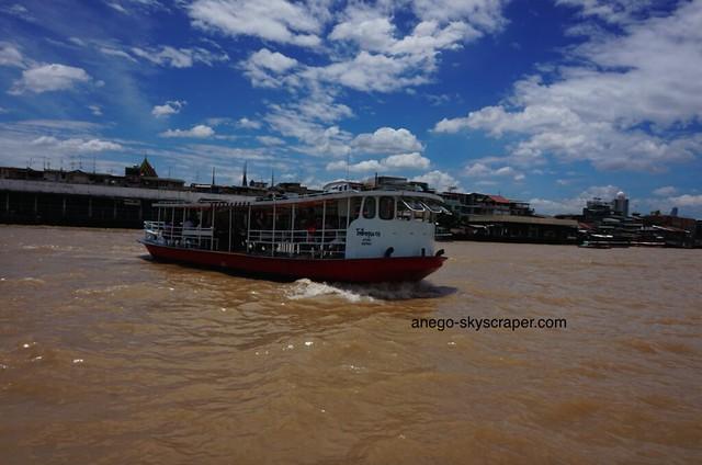 チャオプラヤ川 ワット・ポー