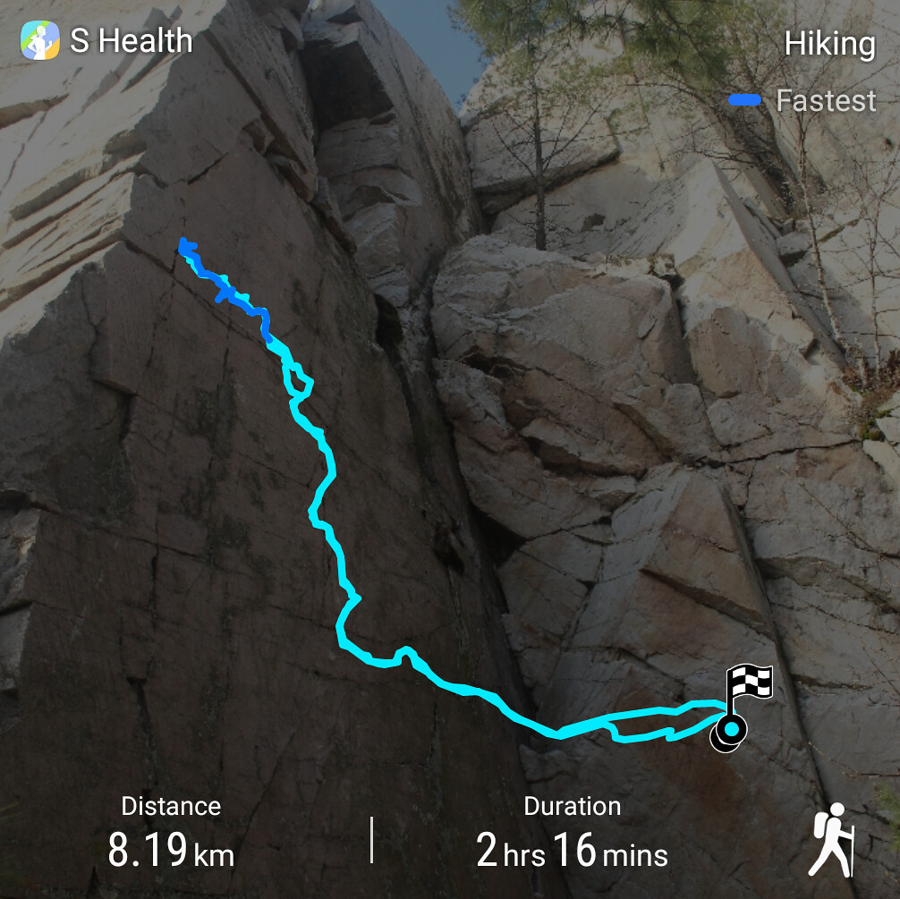 The Crack Trail Route