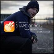 Ed Sheeran's #shapeofyou - #GarageBand cover releasing today on my #YouTube channel https://bit.ly/binod vlogs