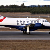 British Airways OY-SVB, OSL ENGM Gardermoen