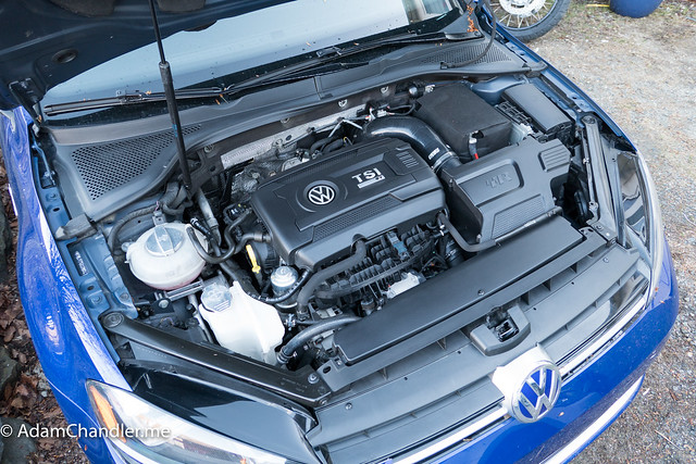 MK7 Golf R Engine Bay Cleaning (After)