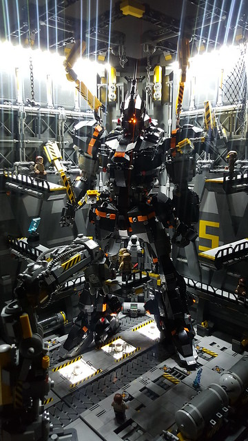 two foot tall monster sized lego mecha could do some serious damage the brothers brick. Black Bedroom Furniture Sets. Home Design Ideas