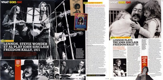 John Sinclair interview MOJO Aug 2017