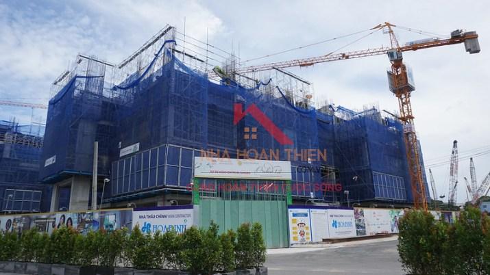 Block Orchid Dự án Hà Đô Centrosa Quận 10 đang xây dựng