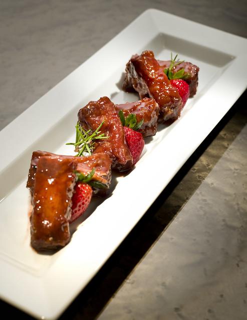 Man Ho_Spare Ribs with Strawberry Sauce