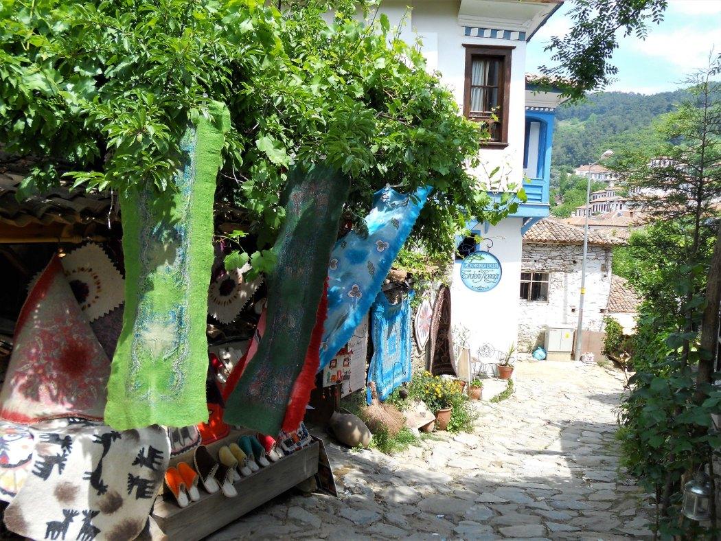 Village street in Şirince