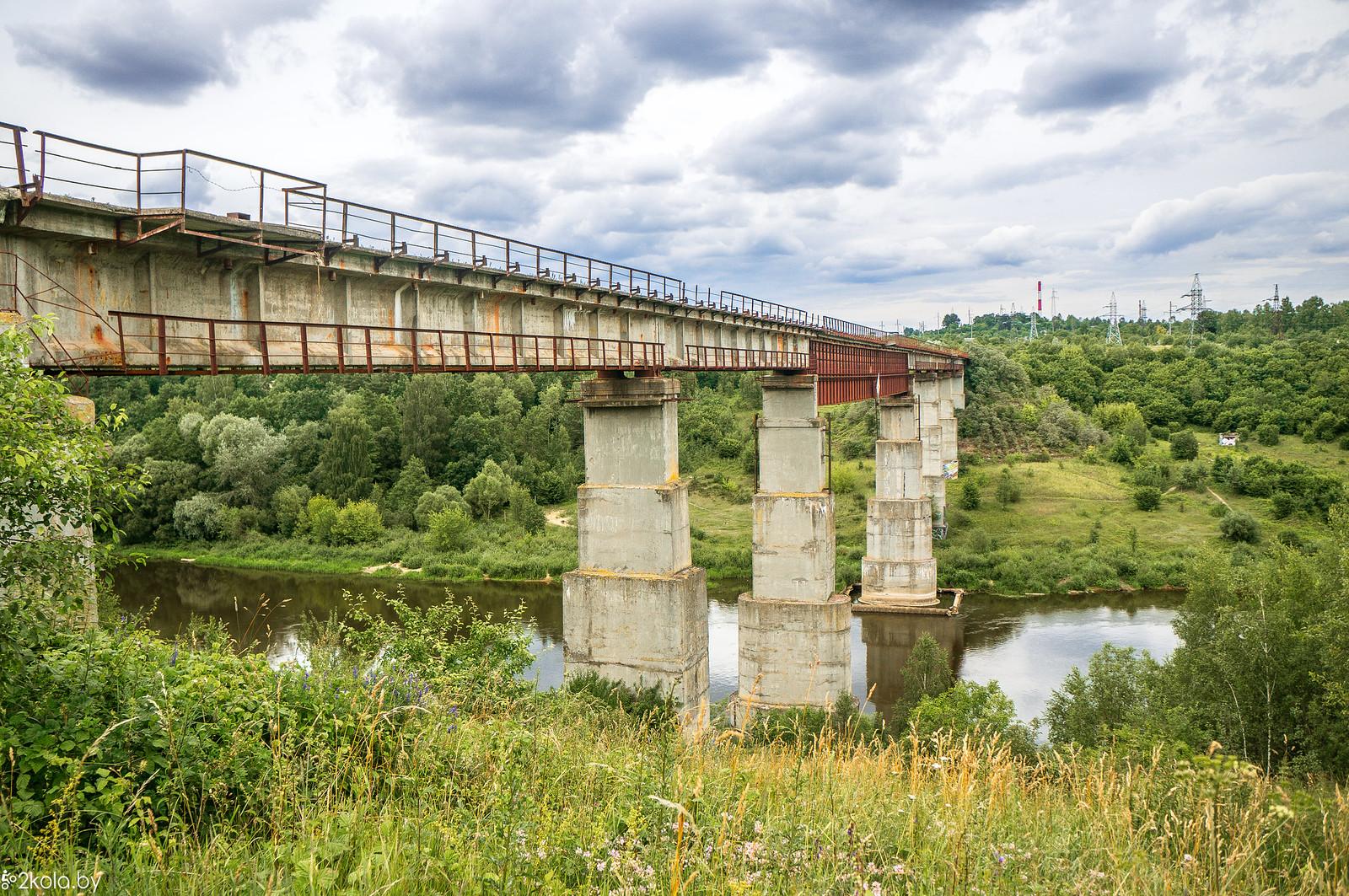 Мост в Гродно