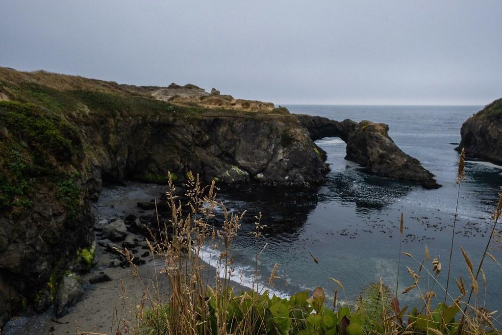 Mendocino Headlands State Park Coastal View