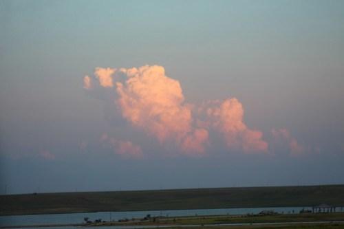Those clouds.