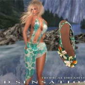 Tropical dream outfit AD