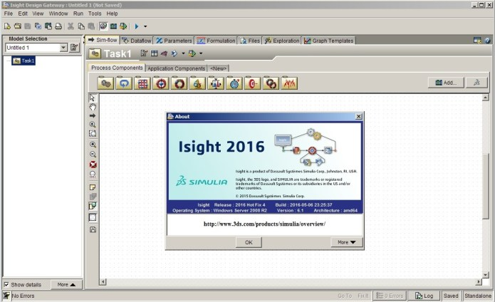 work with Isight 2016 hotfix4 64bit full license