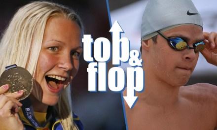 Il Top & Flop del nuoto: super Sjöström e mal di Andrew