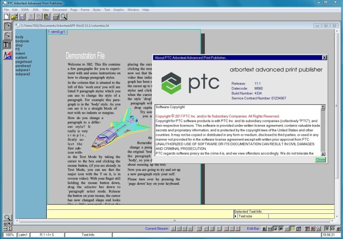 PTC Arbortext Advanced Print Publisher 11.1 M060 x86 x64 full