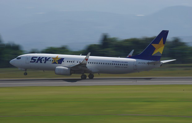 170625 鹿児島空港スカイマークボーイング737-800