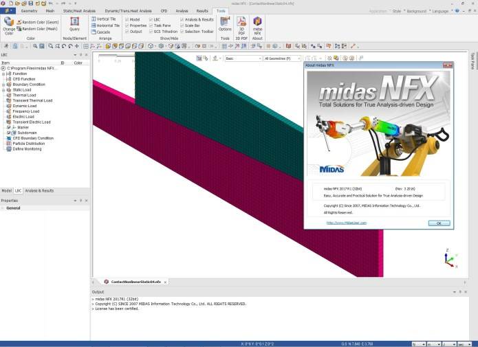 Working with midas NFX 2017 R1 build 03.11.2016 full license