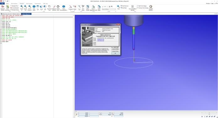 Simulation with CIMCO Edit 8.0 32bit 64bit full crack