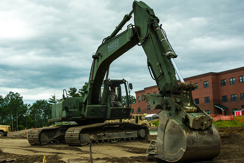 Maine Army National Guard Builds New Multipurpose Field for Raymond Community