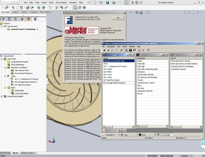 working with Mentor Graphics FloEFD 16.1.37xx Standalone NX CATIAV5 Creo SolidEdge Suite x64