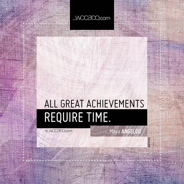 All great achievements by WOCADO.com