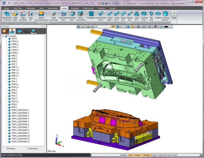 design with ZWCAD Software ZW3D 2012 v.16.00 full crack