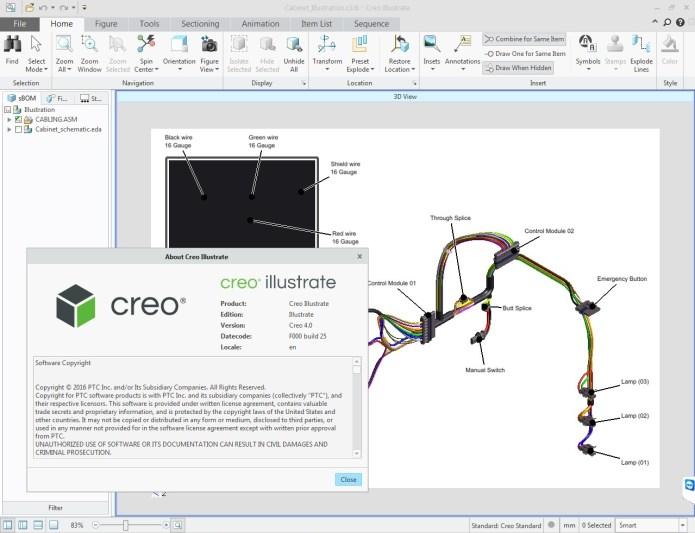 PTC Creo Illustrate 4.0 F000 32BIT 64BIT full license
