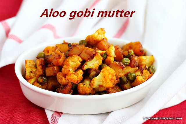 aloo gobi- mutter