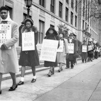 Against the cold wind: The 1948 cafeteria workers strike